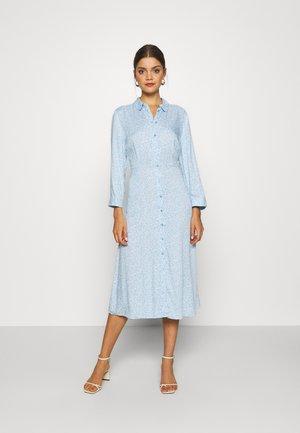 JANICE - Shirt dress - cool blue