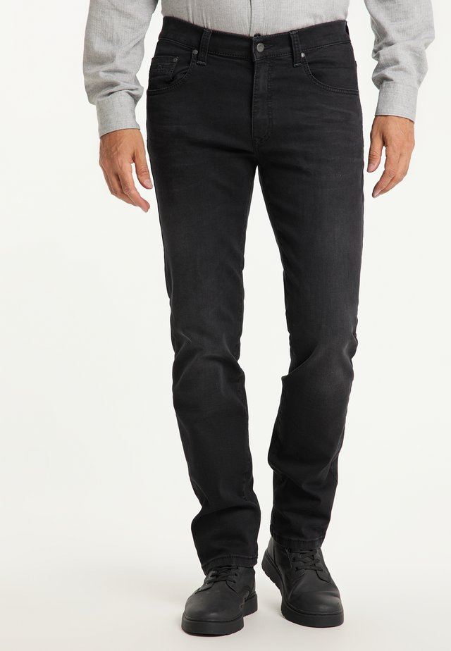 RANDO - Straight leg jeans - black used