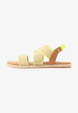 MISTII - Espadrilles - bright yellow