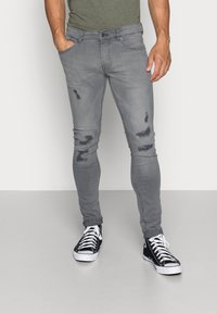 Only & Sons - ONSSPUN - Jeans Skinny Fit - grey denim - 0