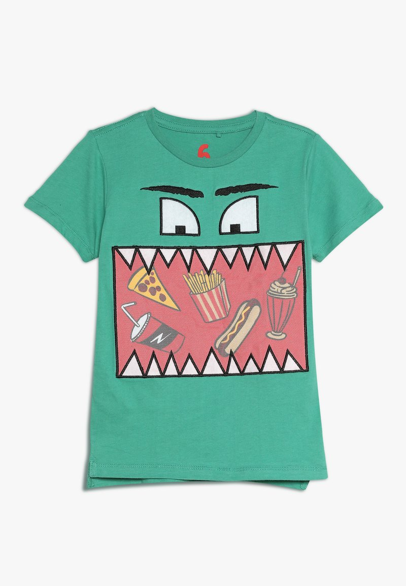 Cotton On - ELI SHORT SLEEVE TEE - Print T-shirt - green