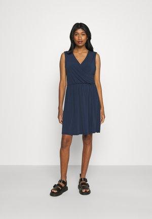 VMHAIDY SHORT DRESS  - Jersey dress - navy blazer