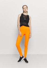adidas by Stella McCartney - TRUEPURPOSE TIGHTS - Medias - signal orange - 1