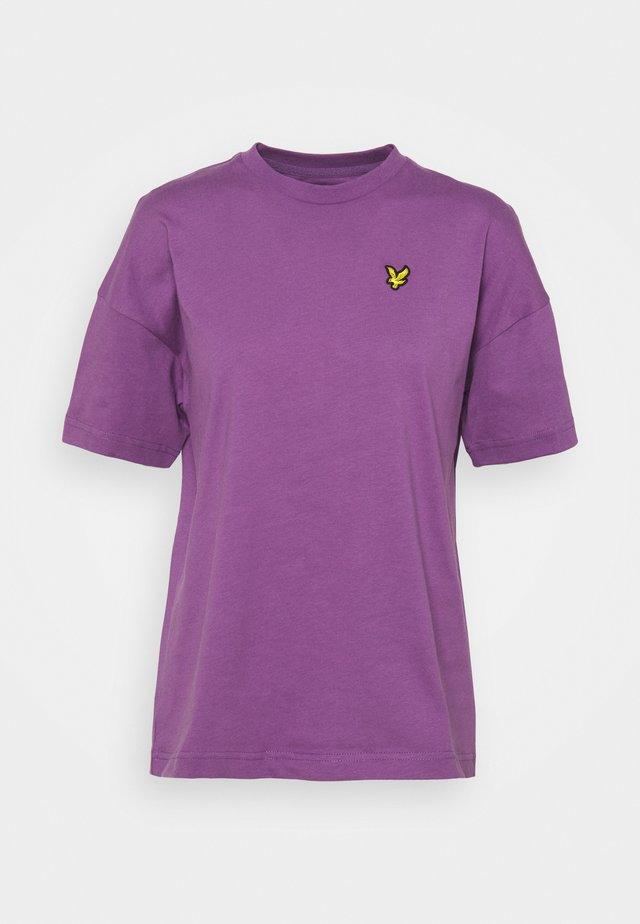 T-shirt basic - dark thistle