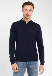 PROFUOMO - PROFUOMO - Polo shirt - navy - 0