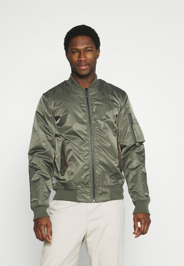 SCHOTT X HARRINGTON  - Giubbotto Bomber - olive