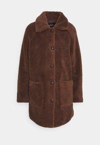 ONLEMILY  COAT - Klasický kabát - potting soil