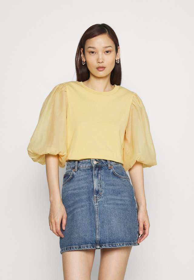 POET TEE - Long sleeved top - golden haze