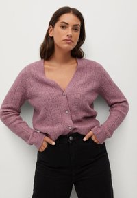 Violeta by Mango - JEWERLY - Cardigan - rosa - 0
