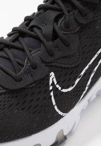 Nike Sportswear - REACT VISION  - Sneakers - black/white - 6