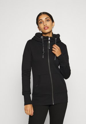NESKA ZIP - Zip-up hoodie - black