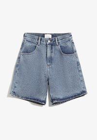 ARMEDANGELS - FREYMAA - Denim shorts - medium washed - 4