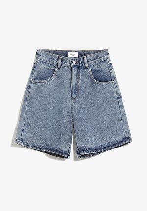 FREYMAA - Denim shorts - medium washed