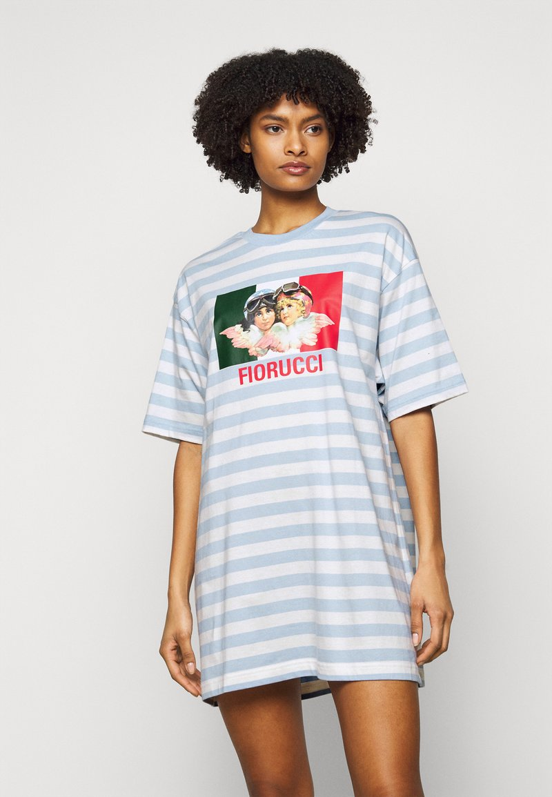 Fiorucci - VINTAGE ANGELS STRIPE DRESS - Jersey dress - multi