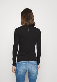 Guess - ICON TEE - Long sleeved top - jet black - 2