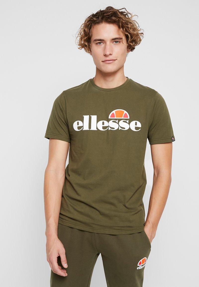 Ellesse - T-shirt print - khaki