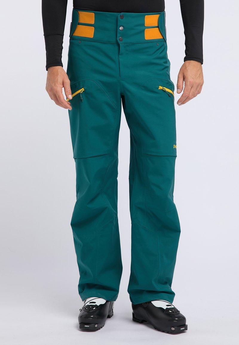 PYUA - CREEK - Pantaloni da neve - petrol blue