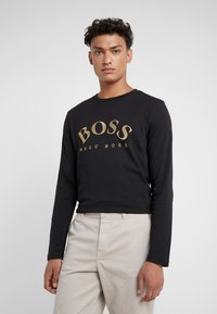 BOSS - TOGN  - Camiseta de manga larga - black/gold - 0