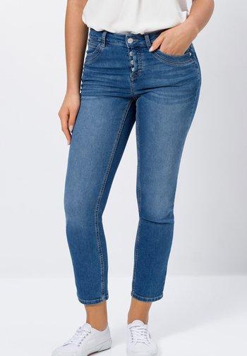 Slim fit jeans - wave blue stone wash