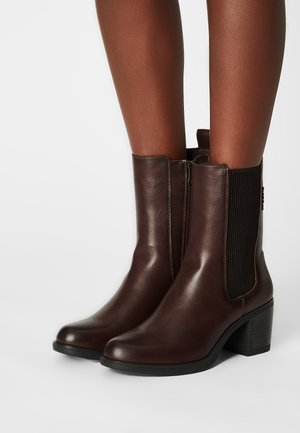 Classic ankle boots - brandy
