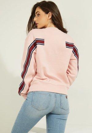 LOGO LETTERING - Sweatshirt - rose