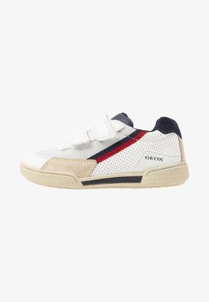 POSEIDO BOY - Sneakers laag - white/navy