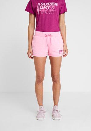CORE SPORT SHORTS - kurze Sporthose - sugar pink marl