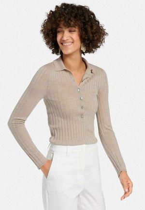 Pullover - helltaupe melange