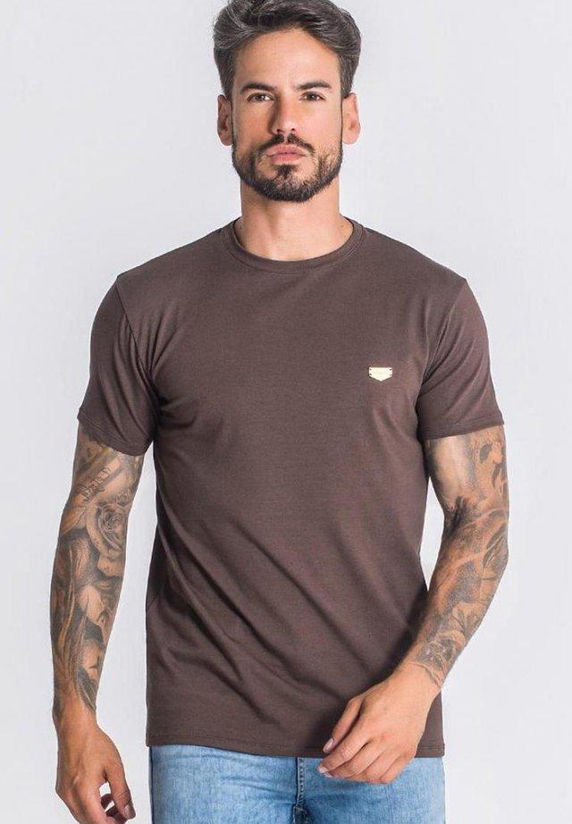 T-shirt basic - brown