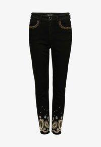 Desigual - DENIM_VIOLETA - Jeans slim fit - black - 4