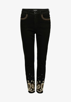 DENIM_VIOLETA - Slim fit jeans - black