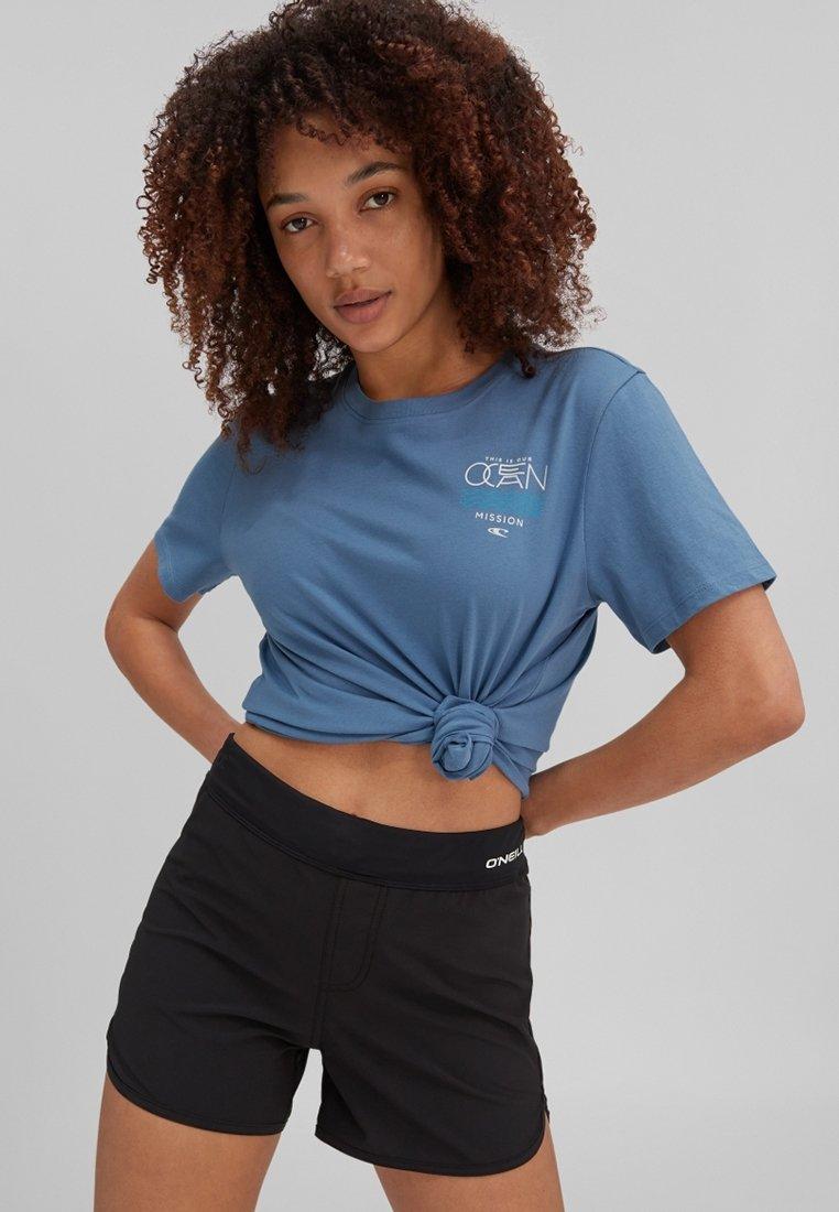 O'Neill - PACIFIC OCEAN - Print T-shirt - walton blue
