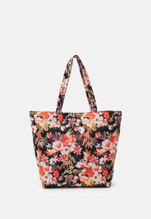 CARRIED AWAY BORA BORA FLORA TOTE - Strandaccessoire - black