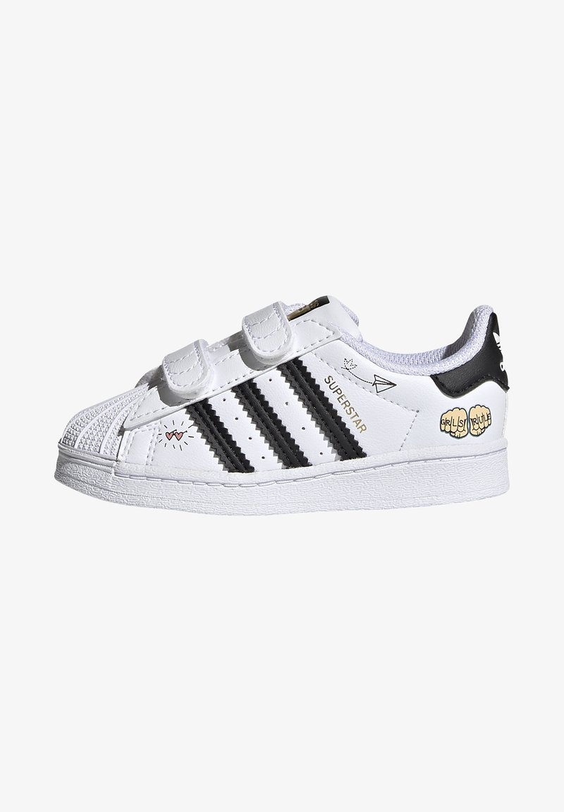 adidas Originals - SUPERSTAR SHOES - Sneakers laag - ftwr white/core black/gold met.