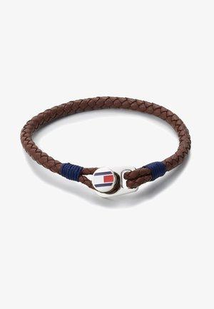 CASUAL - Armband - braun/navy