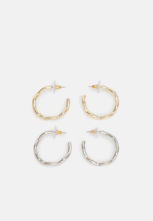 2 PACK - Korvakorut - gold-coloured/silver-coloured