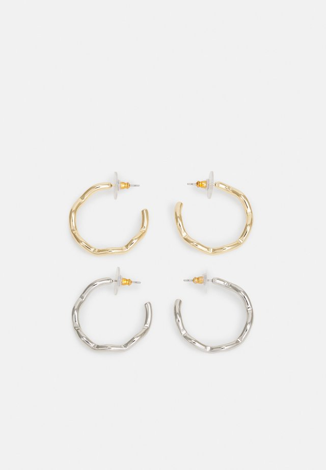 2 PACK - Earrings - gold-coloured/silver-coloured