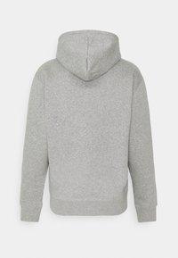 Nike SB - ICON HOODIE UNISEX - Hoodie - grey heather/black - 6
