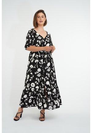 Maxi dress - multi grey-black