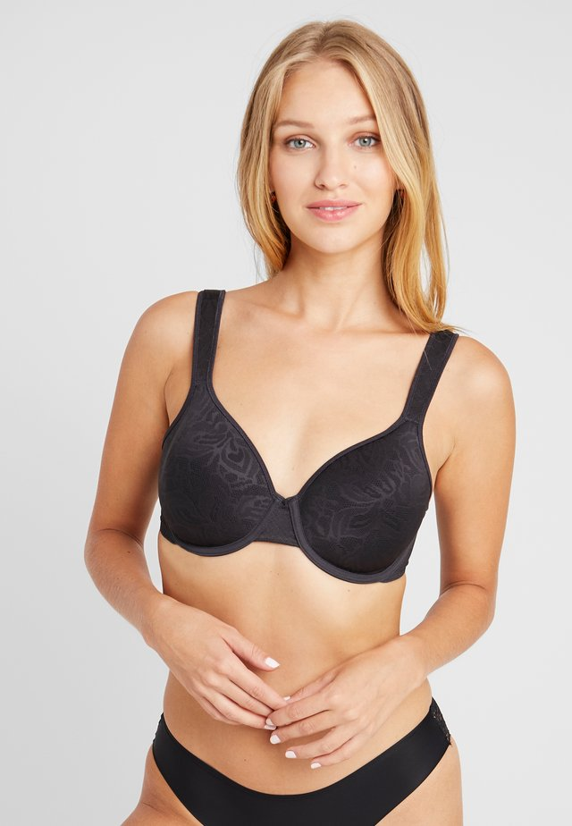 AWARENESS SPACER BRA - Underwired bra - black