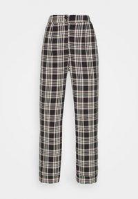 Fashion Union - VAMY TROUSER - Kalhoty - check - 4