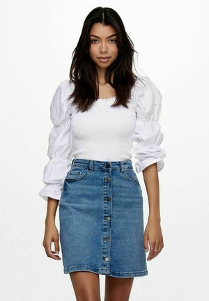GESMOKT - Bluser - bright white