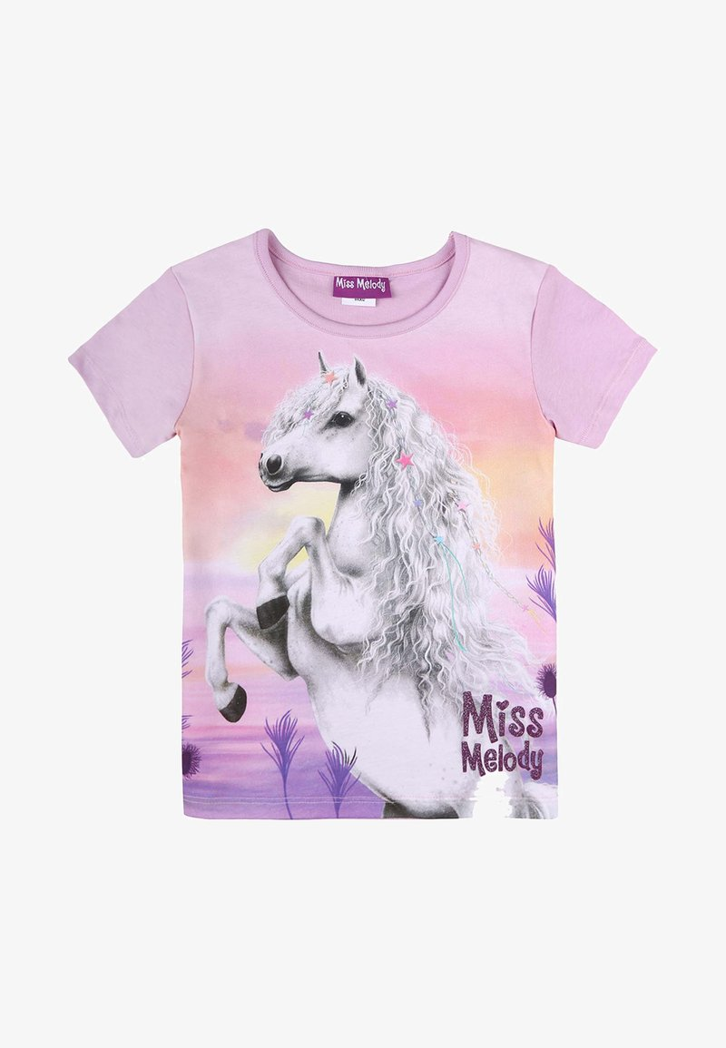 Miss Melody - Print T-shirt - orchid bouquet
