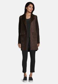 Betty Barclay - Short coat - dark chocolate - 1