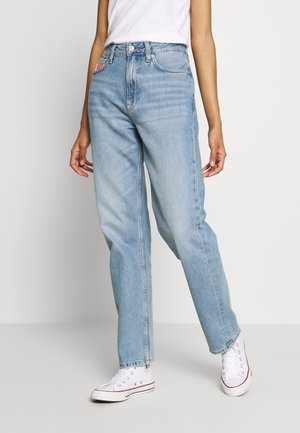 HARPER STRGHT - Straight leg jeans - light blue denim