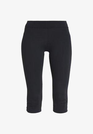 CAPRI - 3/4 sports trousers - black
