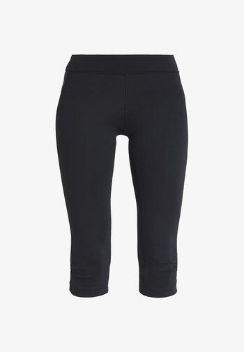 CAPRI - Pantaloncini 3/4 - black