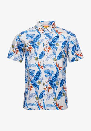 HAWAIIAN  - Shirt - cream tropical aop
