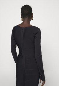 Hervé Léger - DRESS - Sukienka etui - black - 4