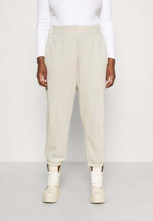 Pantalones deportivos - cream/white